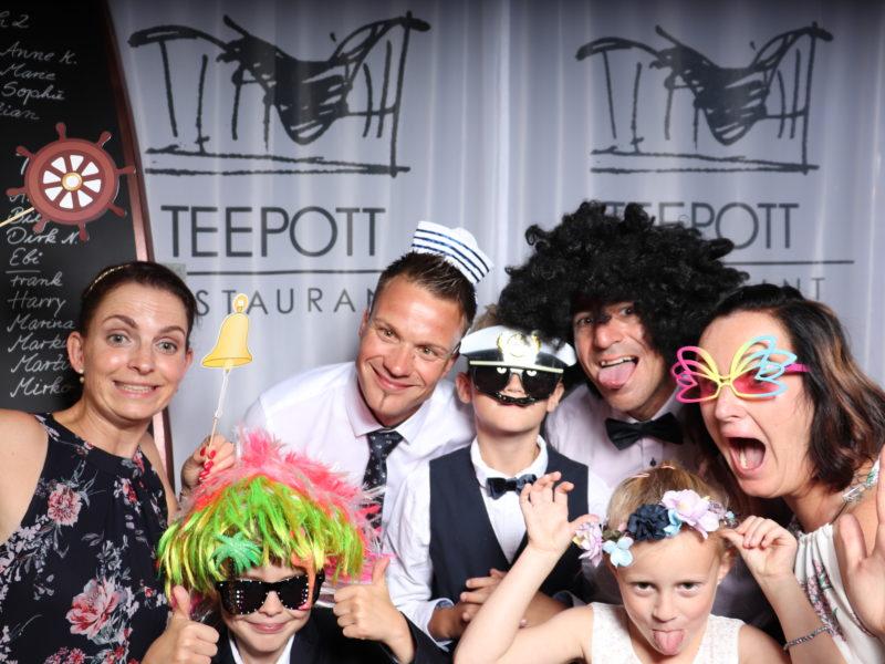 Hochzeit im Teepod